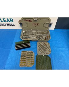 Synthes CSLP Cervical Spine Locking Plate Set