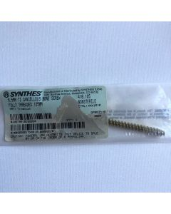 Synthes 418.105 6.5mm TI Cancellous Bone Screw Fully Threaded 105mm